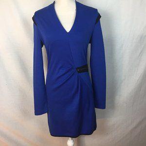 Xtaren Long Sleeve Zipper Detail Dress